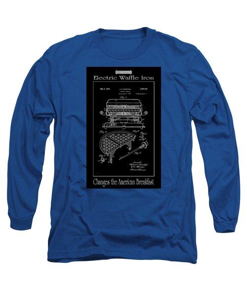Electric Waffle Iron Long Sleeve T-Shirt