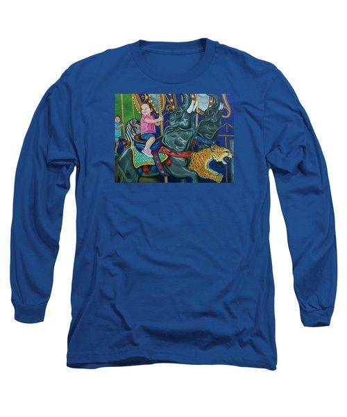 Elephant Ride Long Sleeve T-Shirt