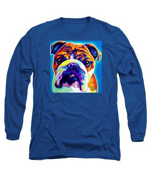 Bulldog - Bond -square Long Sleeve T-Shirt