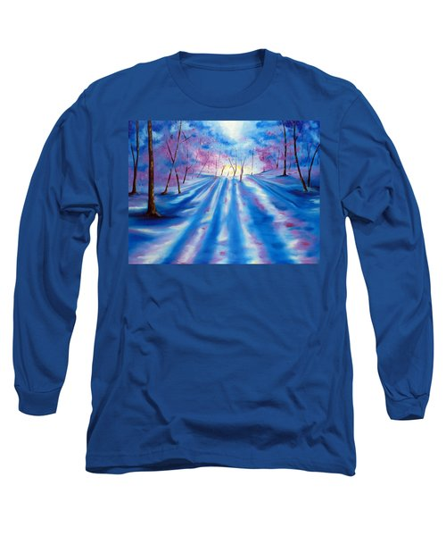 Long Sleeve T-Shirt featuring the painting Evident by Meaghan Troup