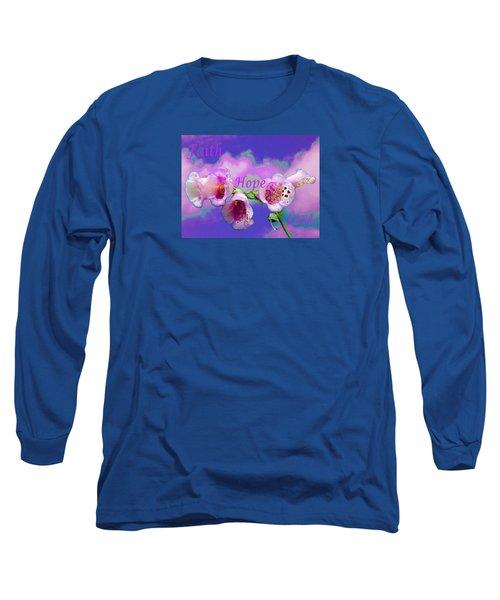 Faith-hope-love Long Sleeve T-Shirt