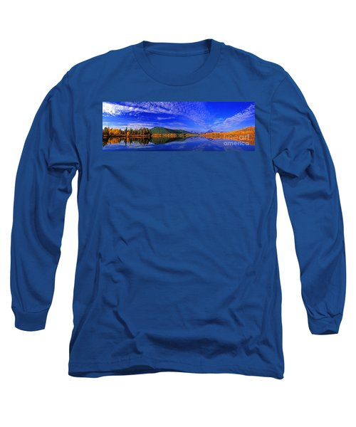 Long Sleeve T-Shirt featuring the photograph Fall Color Oxbow Bend Grand Tetons National Park Wyoming by Dave Welling