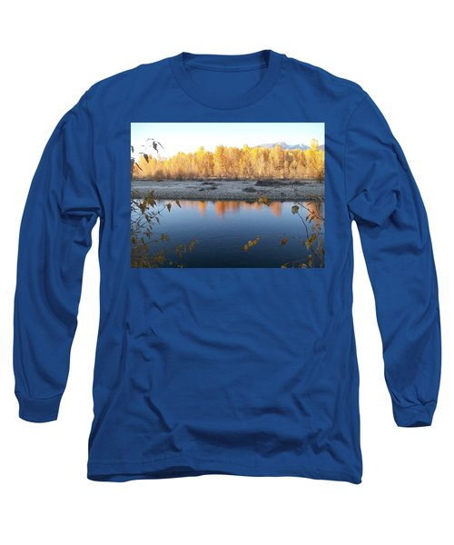 Long Sleeve T-Shirt featuring the photograph Fall Reflection 2 by Jewel Hengen