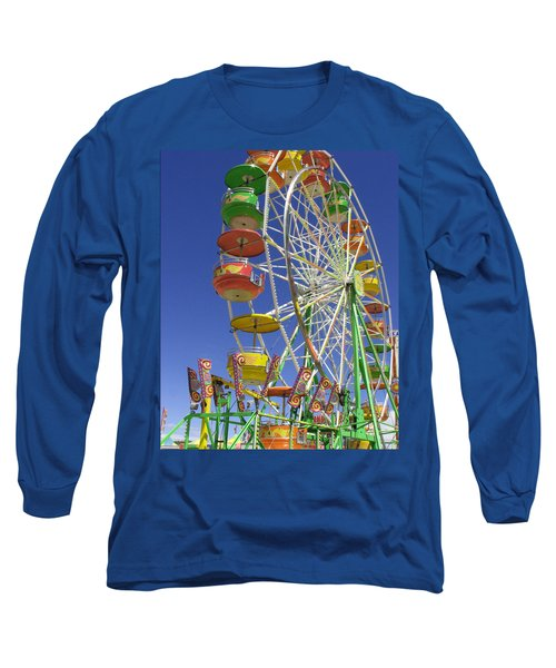 Long Sleeve T-Shirt featuring the photograph Ferris Wheel by Marcia Socolik