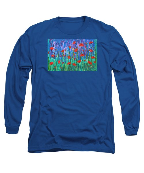 Field Of Dreams Long Sleeve T-Shirt by Patricia Olson