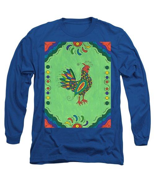 Fiesta Rooster Long Sleeve T-Shirt