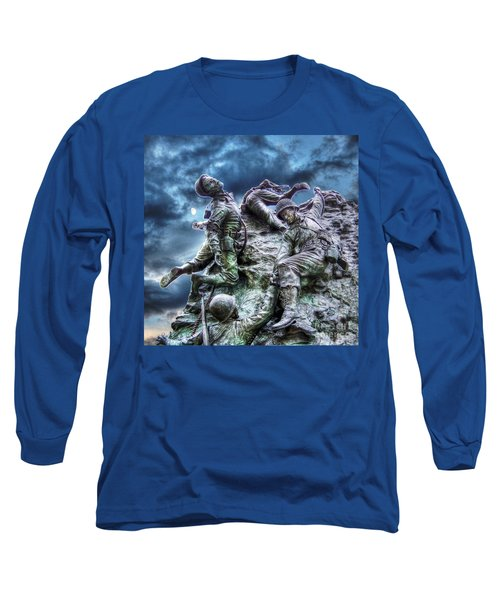 Fight On Long Sleeve T-Shirt by Dan Stone