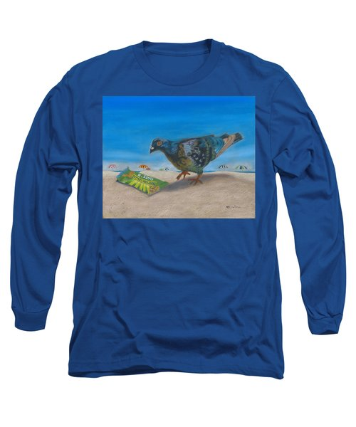 Finders Keepers Long Sleeve T-Shirt by Arlene Crafton