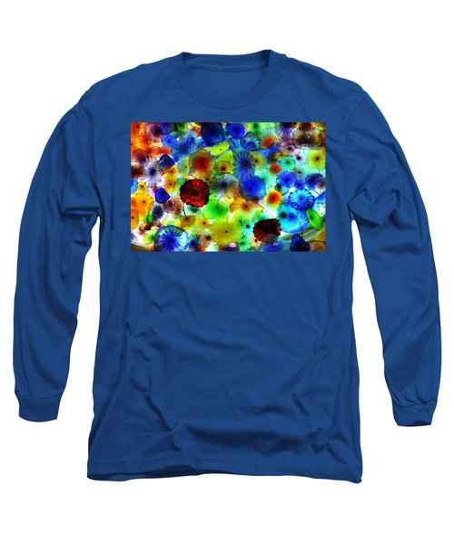 Long Sleeve T-Shirt featuring the photograph Fiori Di Como By Glass Sculptor by Gandz Photography