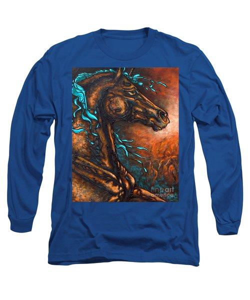 Fire Run Long Sleeve T-Shirt