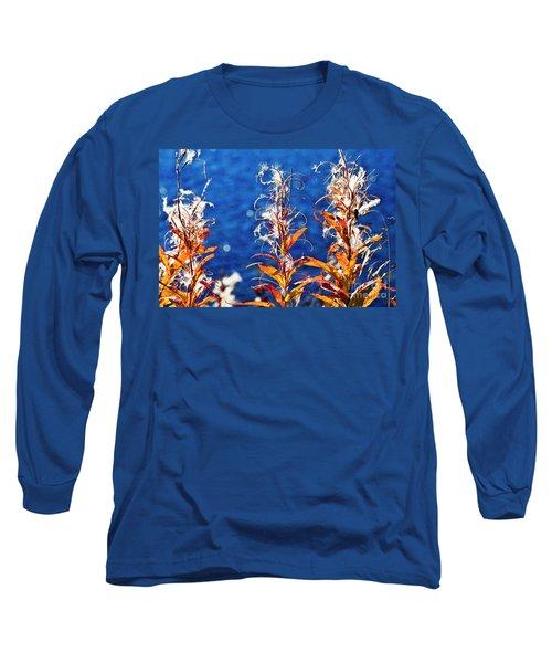 Fireweed Flower Long Sleeve T-Shirt
