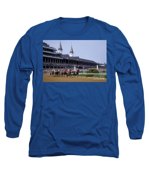 First Saturday In May - Fs000544 Long Sleeve T-Shirt by Daniel Dempster