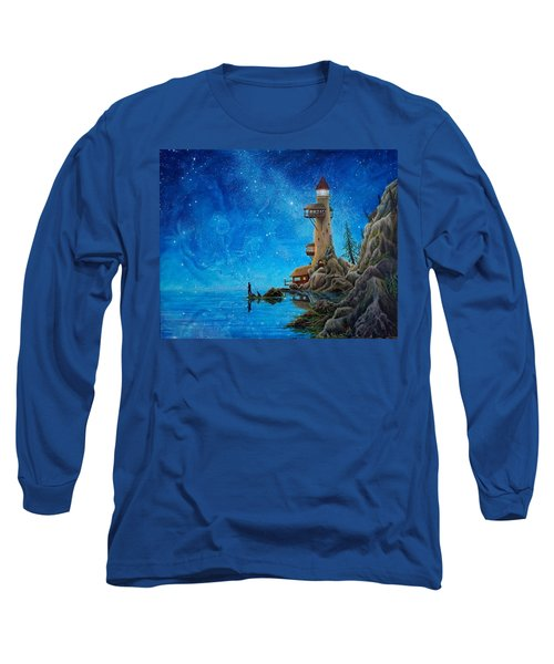 Fishing Long Sleeve T-Shirt by Matt Konar