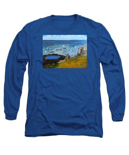Flagstaff Point  Long Sleeve T-Shirt by Pamela  Meredith