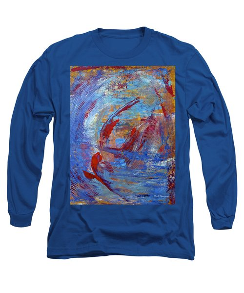 Flight Long Sleeve T-Shirt by Dick Bourgault