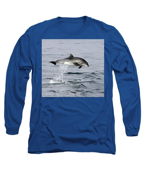 Flight Of The Dolphin Long Sleeve T-Shirt by Shoal Hollingsworth