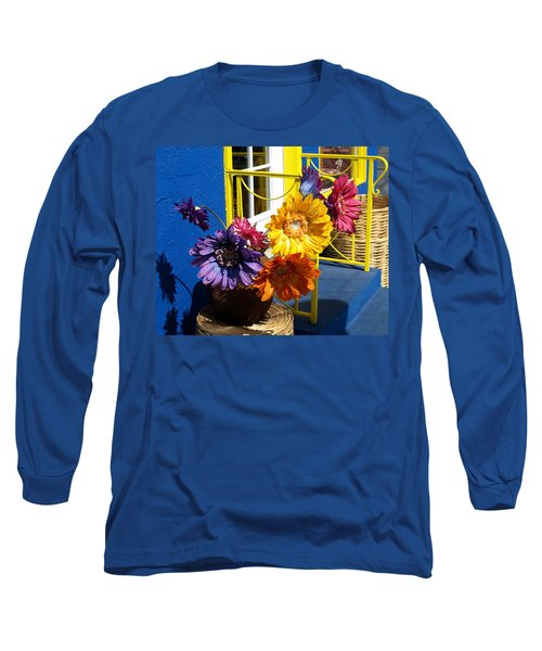 Flores Colores Long Sleeve T-Shirt