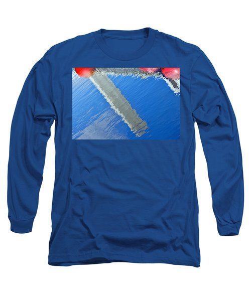 Floridian Abstract Long Sleeve T-Shirt by Keith Armstrong