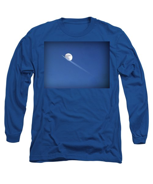 Fly Me To The Moon Long Sleeve T-Shirt by Cricket Hackmann