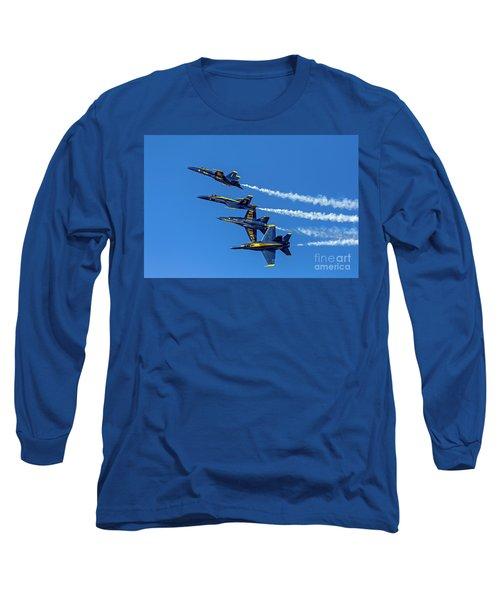 Long Sleeve T-Shirt featuring the photograph Flying Formation by Kate Brown