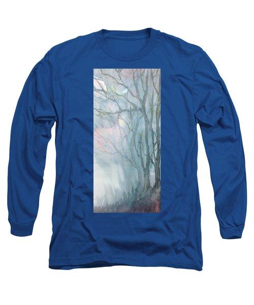 Foggy Trees Long Sleeve T-Shirt