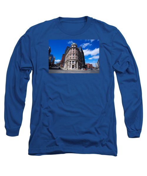 Long Sleeve T-Shirt featuring the photograph Fork Albany N Y by John Schneider