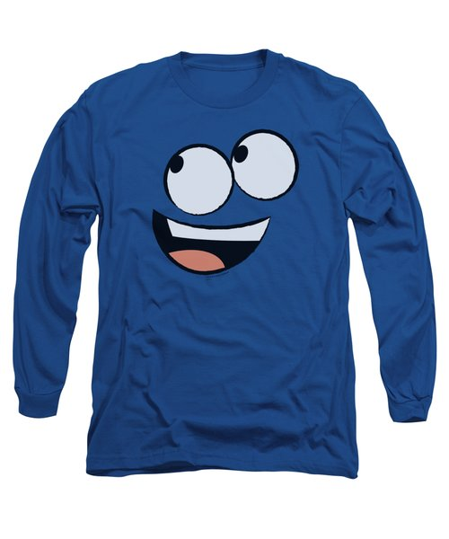 Foster's - Blue Face Long Sleeve T-Shirt