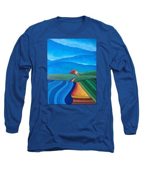 Fountain Inn Long Sleeve T-Shirt by Steve  Hester