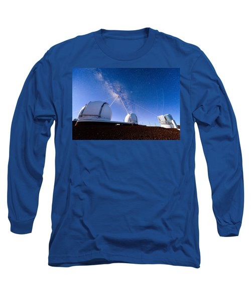 Four Lasers Attacking The Galactic Center Long Sleeve T-Shirt