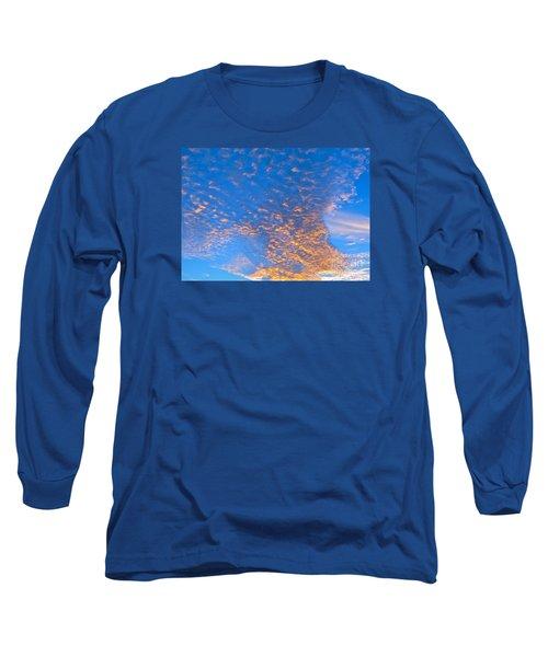 Fulgent Funneling Long Sleeve T-Shirt by Joy Hardee