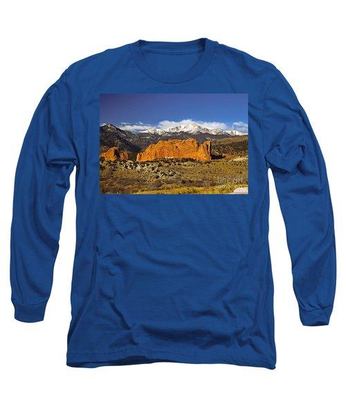 Garden Of The Gods - Colorado Springs Long Sleeve T-Shirt