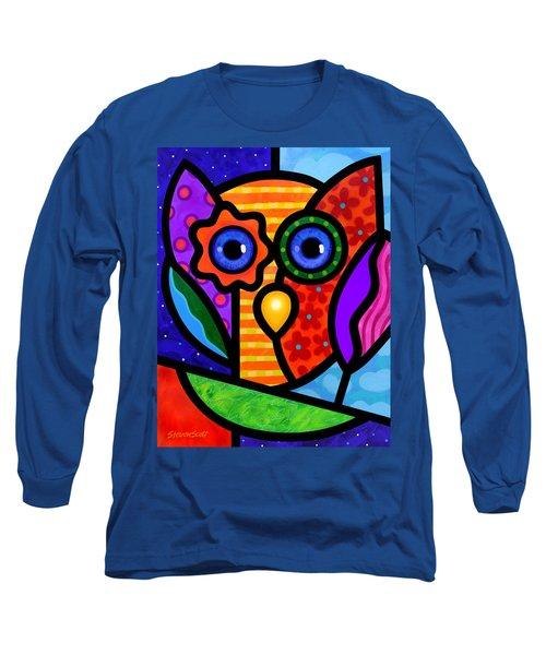 Garden Owl Long Sleeve T-Shirt