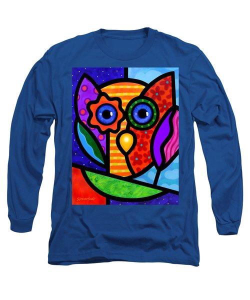 Garden Owl Long Sleeve T-Shirt