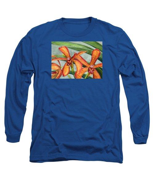 Gayety Long Sleeve T-Shirt by Lynda Hoffman-Snodgrass