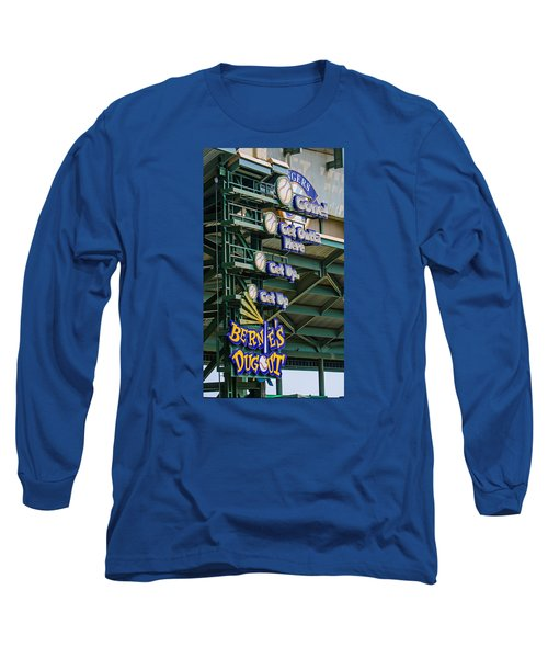 Get Outta Here   Long Sleeve T-Shirt by Susan  McMenamin