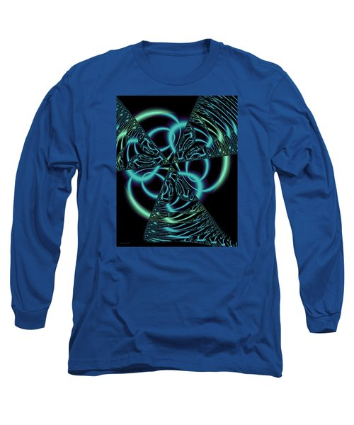 Long Sleeve T-Shirt featuring the digital art Gingezel 1 The Limit by Judi Suni Hall
