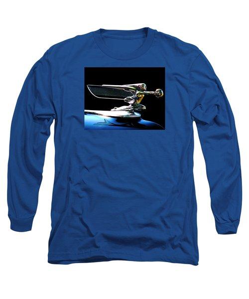 Goddess Of Speed Long Sleeve T-Shirt by Angela Davies