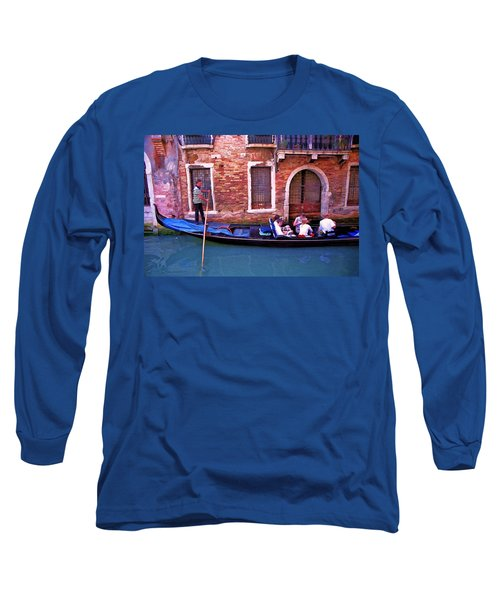 Long Sleeve T-Shirt featuring the photograph Gondola 4 by Allen Beatty