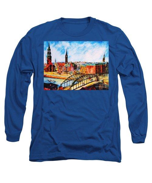 Hamburg - The Beauty At The River Long Sleeve T-Shirt