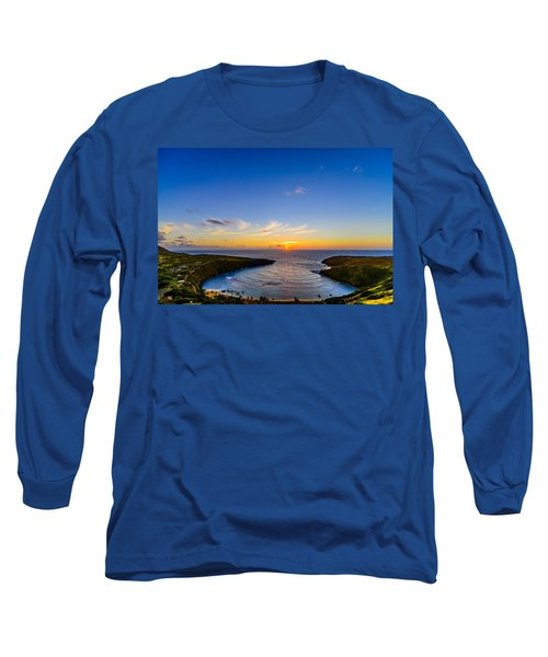 Hanauma Bay Sunrise Long Sleeve T-Shirt