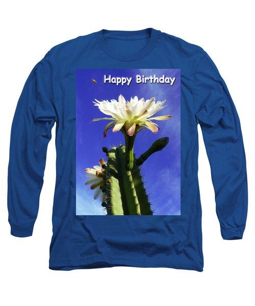 Happy Birthday Card And Print 11 Long Sleeve T-Shirt