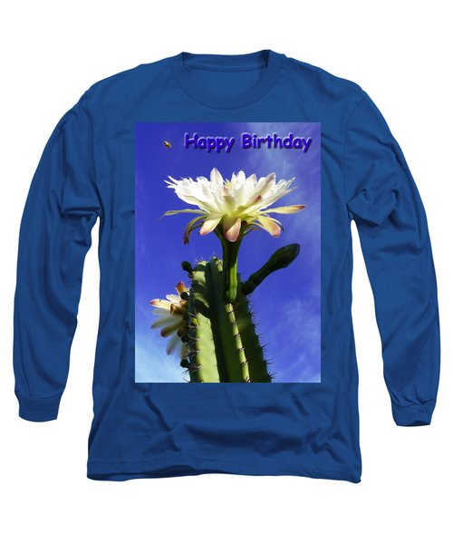 Long Sleeve T-Shirt featuring the photograph Happy Birthday Card And Print 12 by Mariusz Kula