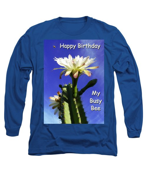 Long Sleeve T-Shirt featuring the photograph Happy Birthday Card And Print 14 by Mariusz Kula