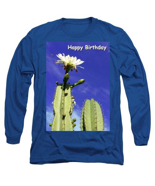 Happy Birthday Card And Print 17 Long Sleeve T-Shirt