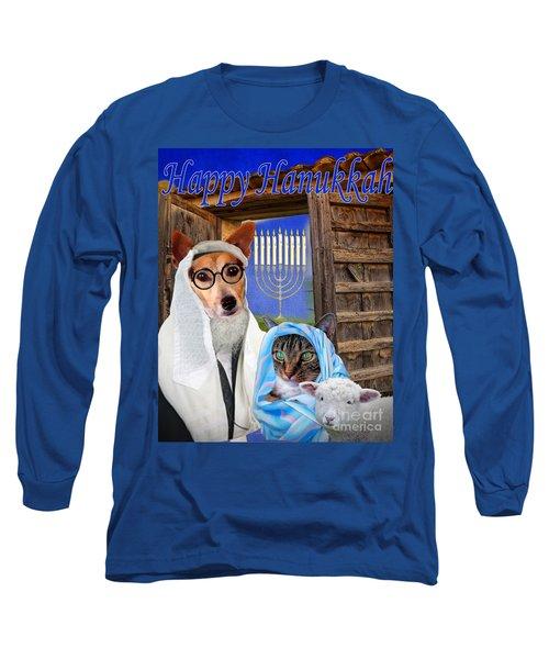Happy Hanukkah -1 Long Sleeve T-Shirt