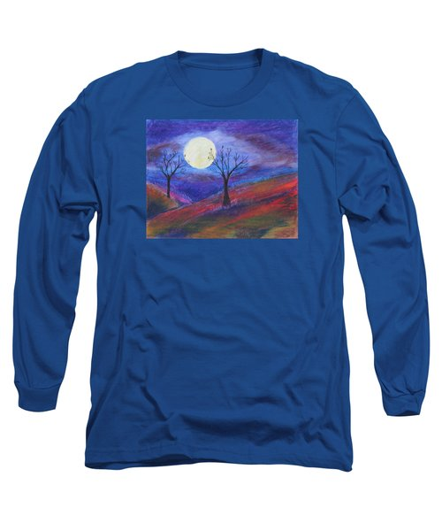 Harvest Moon 3 Long Sleeve T-Shirt by Jeanne Fischer