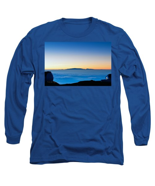 Long Sleeve T-Shirt featuring the photograph Hawaii Sunset by Jim Thompson
