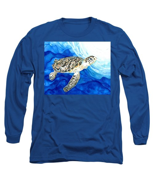 Hawksbill Sea Turtle 2 Long Sleeve T-Shirt