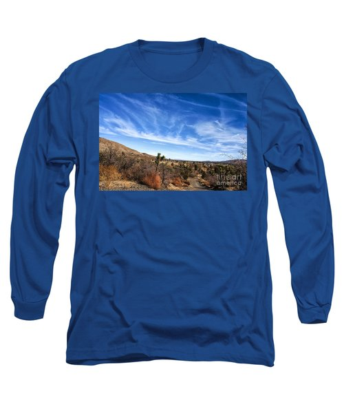 Heaven Long Sleeve T-Shirt by Angela J Wright