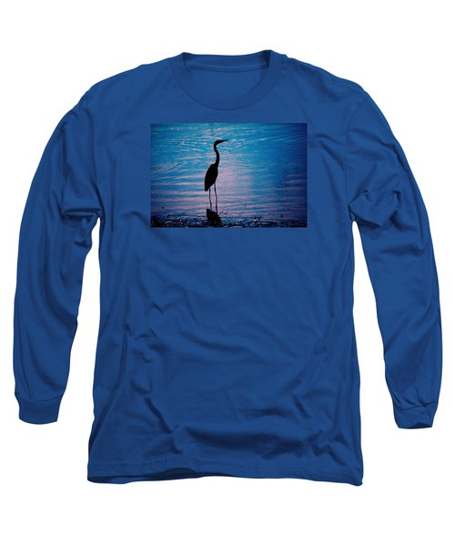 Herons Moment Long Sleeve T-Shirt